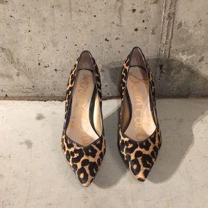 6dcdfebfc82216 Sam Edelman Shoes - Leopard calf hair Sam Edelman heels